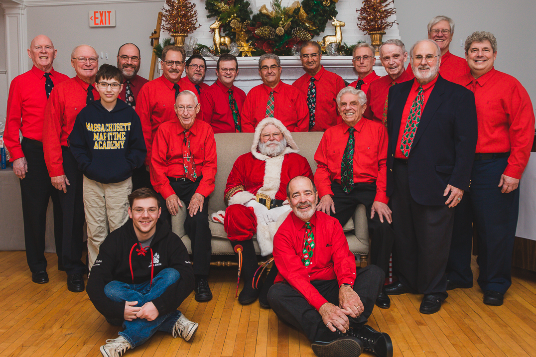 Santa and SSMOH at the HCC